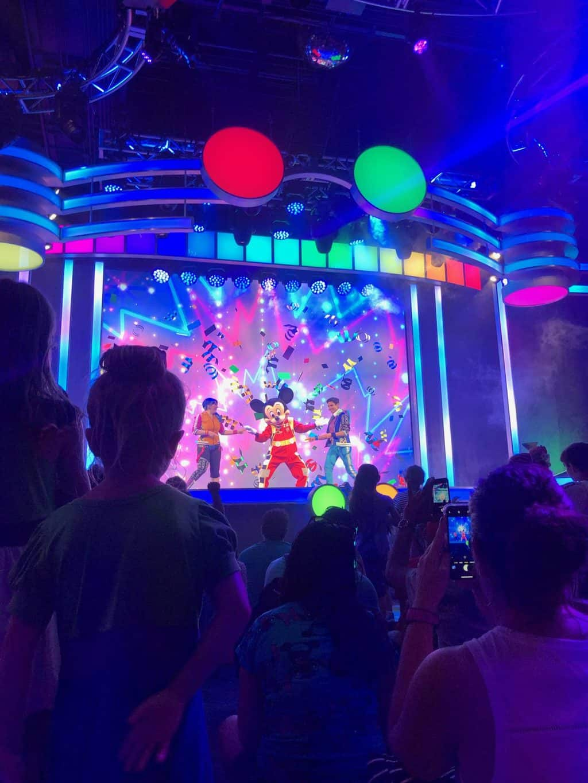 Disney Jr dance party