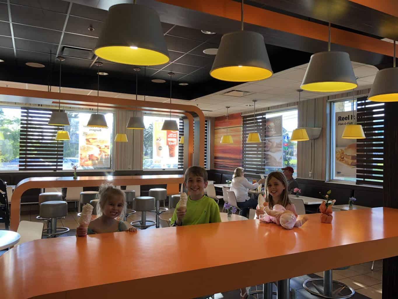mcdonalds treat ice cream