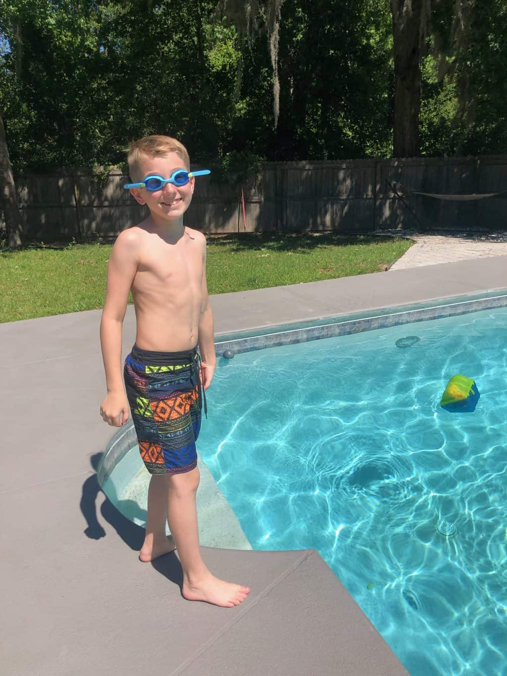 easter pool time
