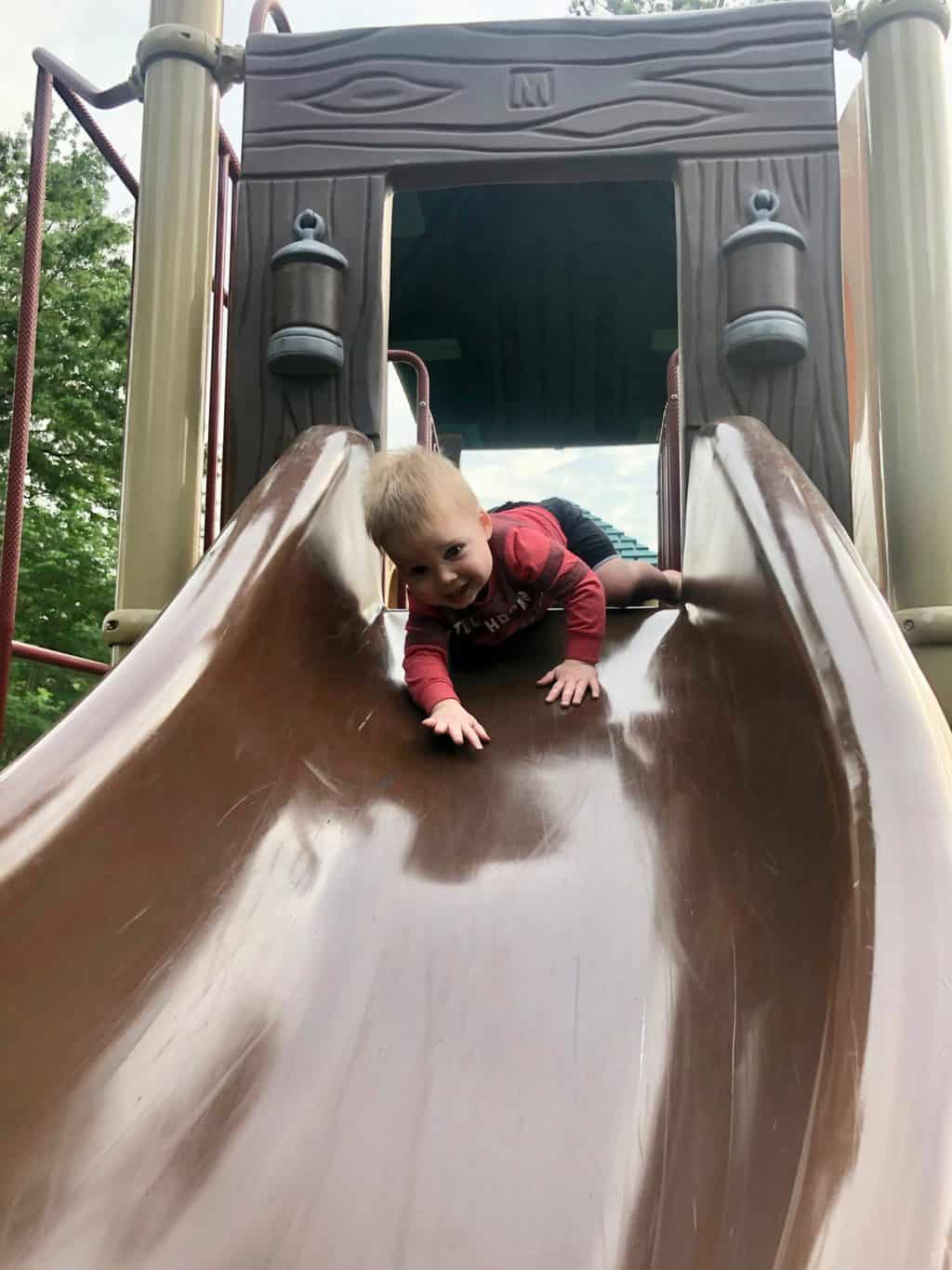 sspear playing on playground