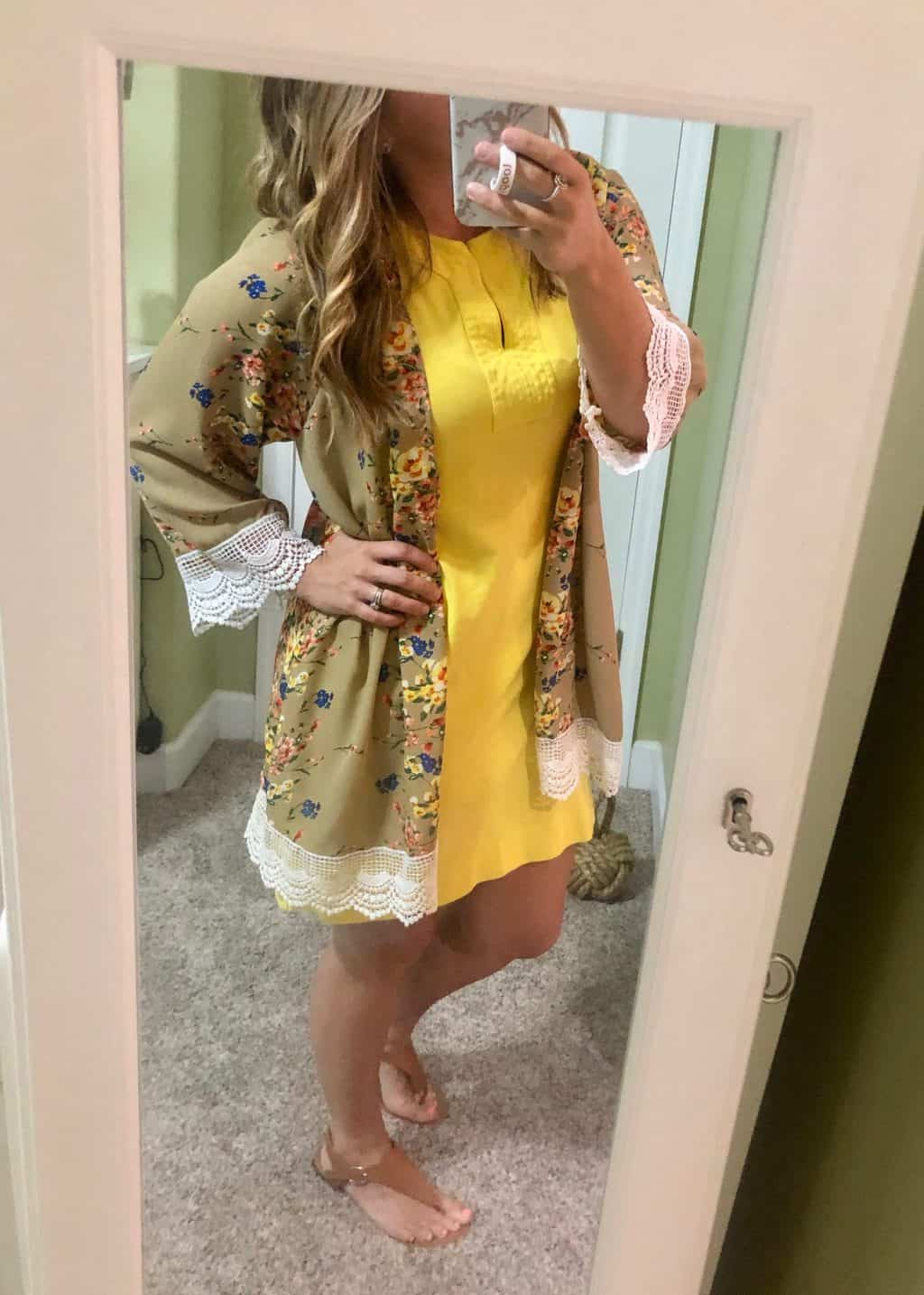 what I wore April 2019