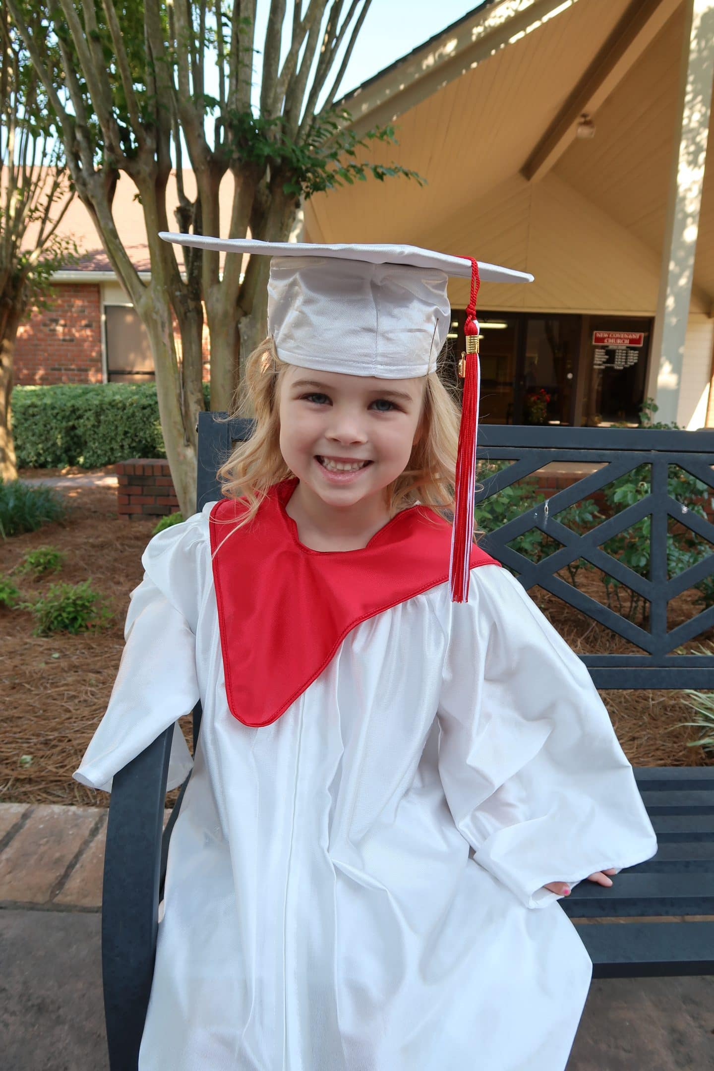 Tess's Preschool Graduation