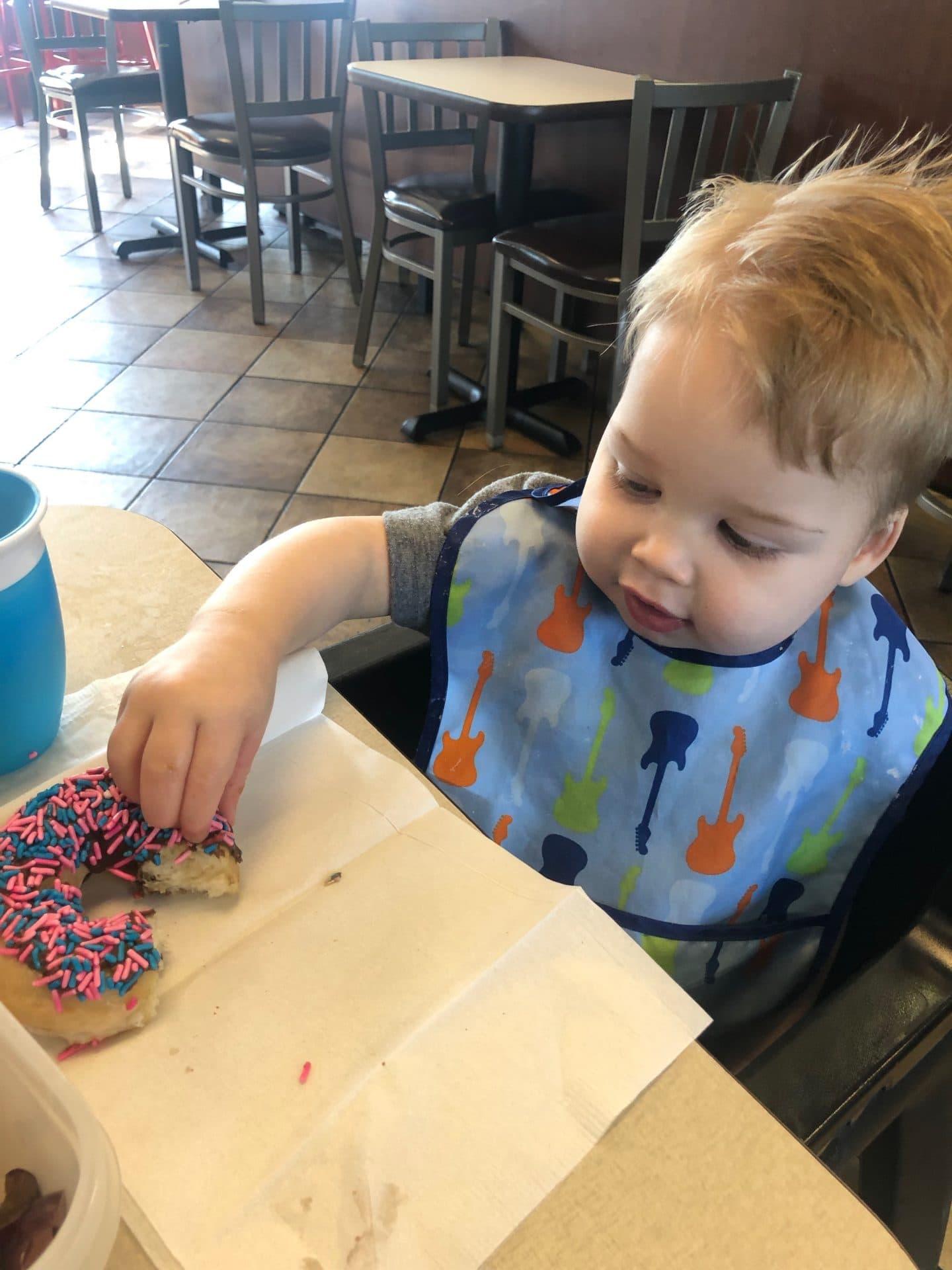 cfa family night donuts