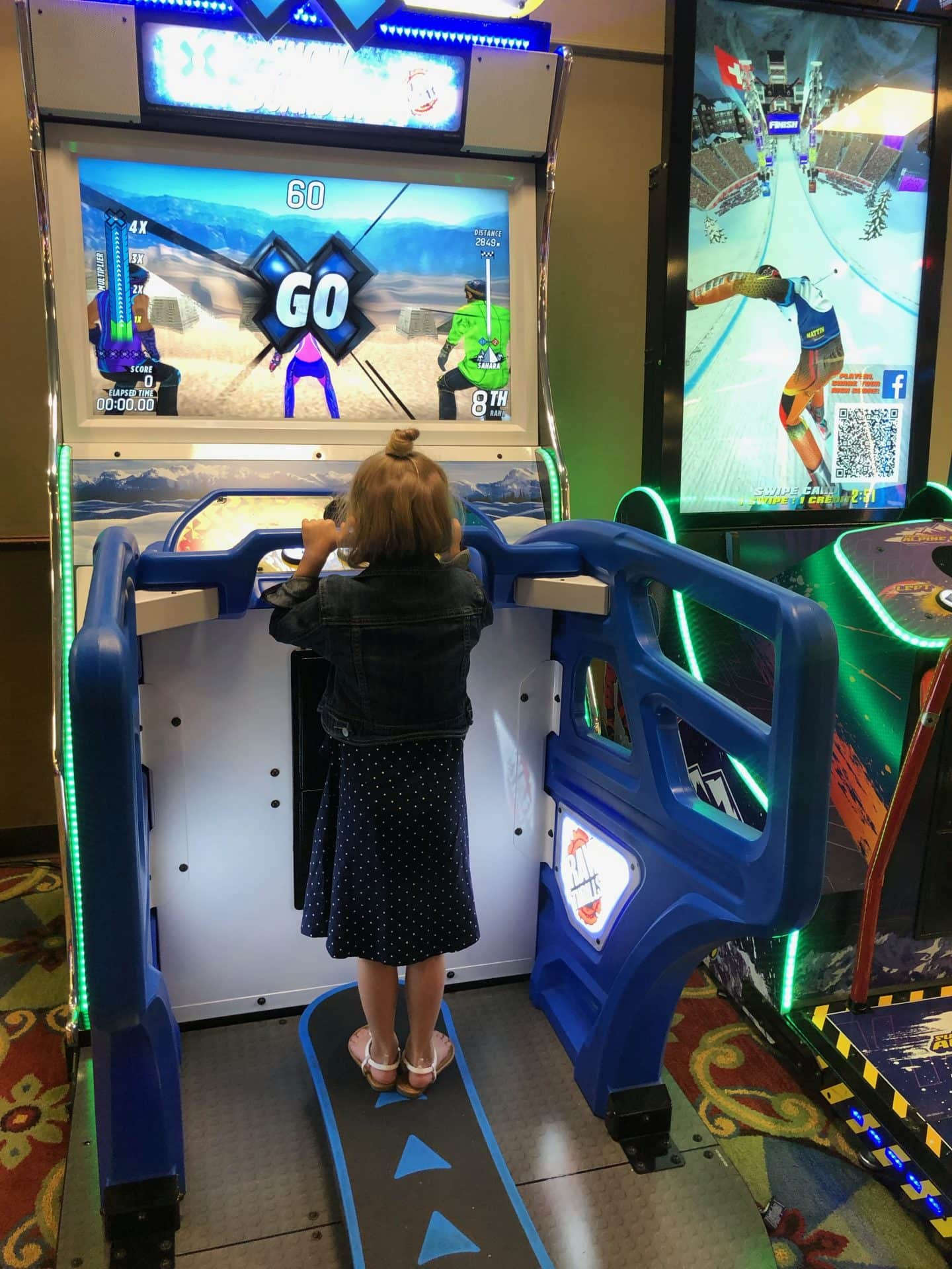 merchandise and arcade at Disney's port Orlean riverside resort