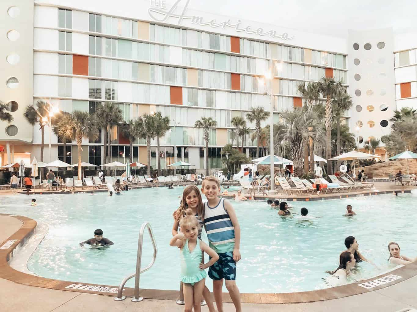 children at cabana bay beach resort at universal