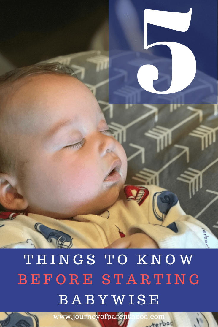 baby sleeping: 5 things to know before starting Babywise