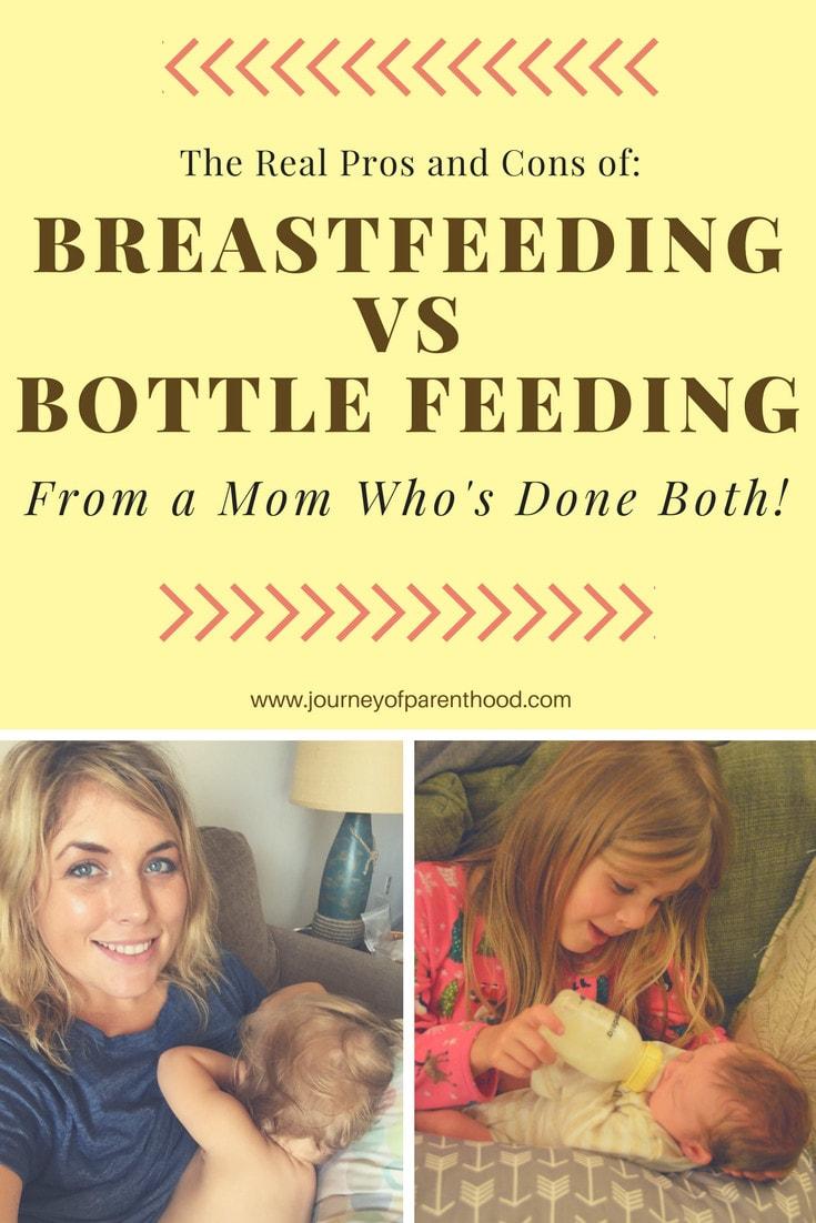 pinable image breastfeeding vs bottle feeding