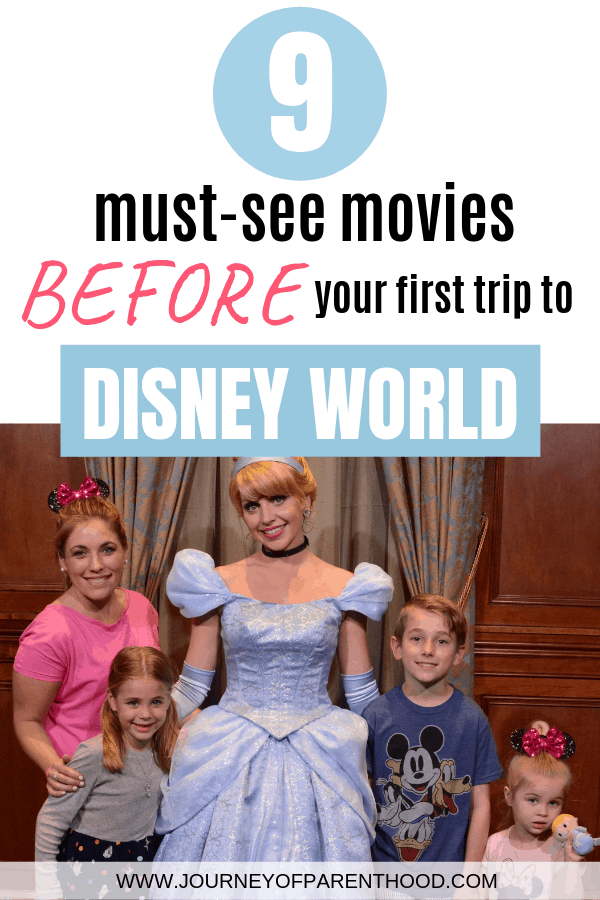 pinable image 9 must see movies before your first trip to Disney World