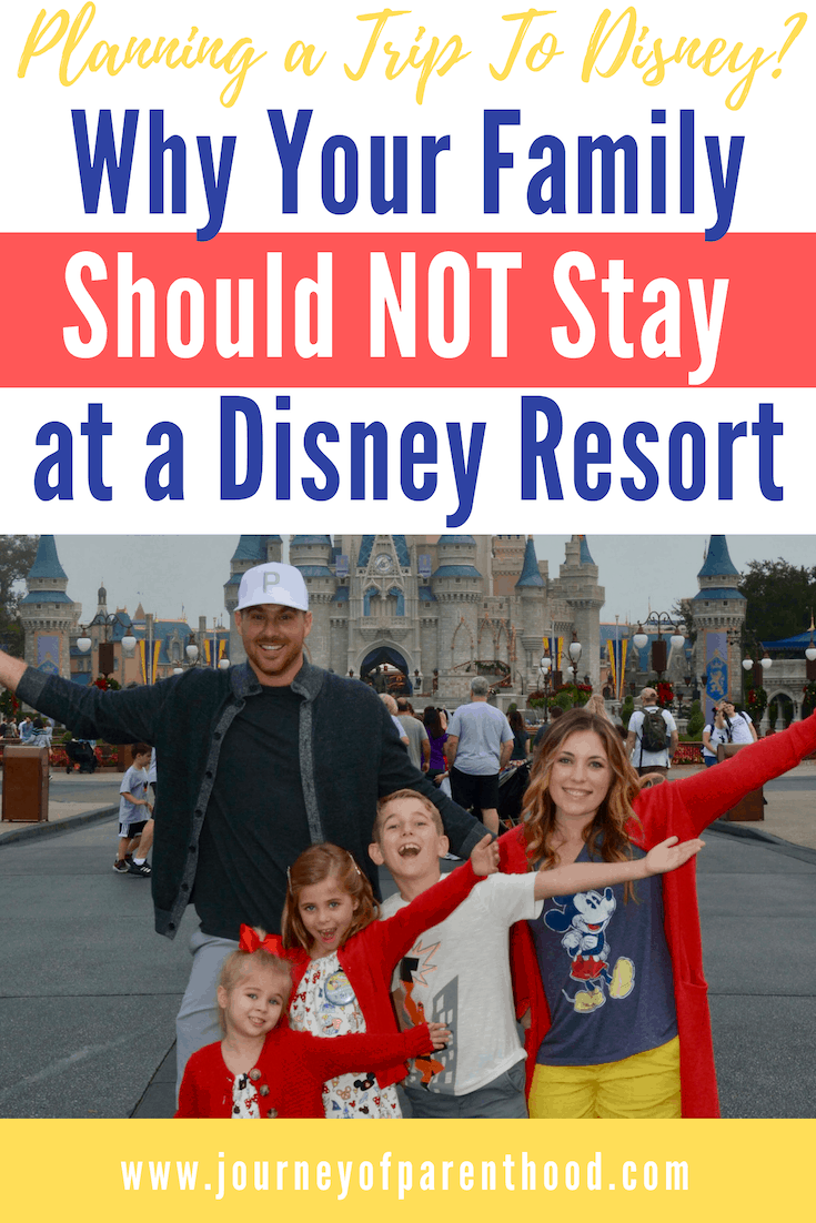 pinable image reasons not to stay at a Disney Resort