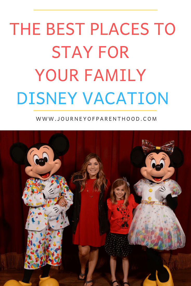 pinable image the best places to stay for your family disney vacation