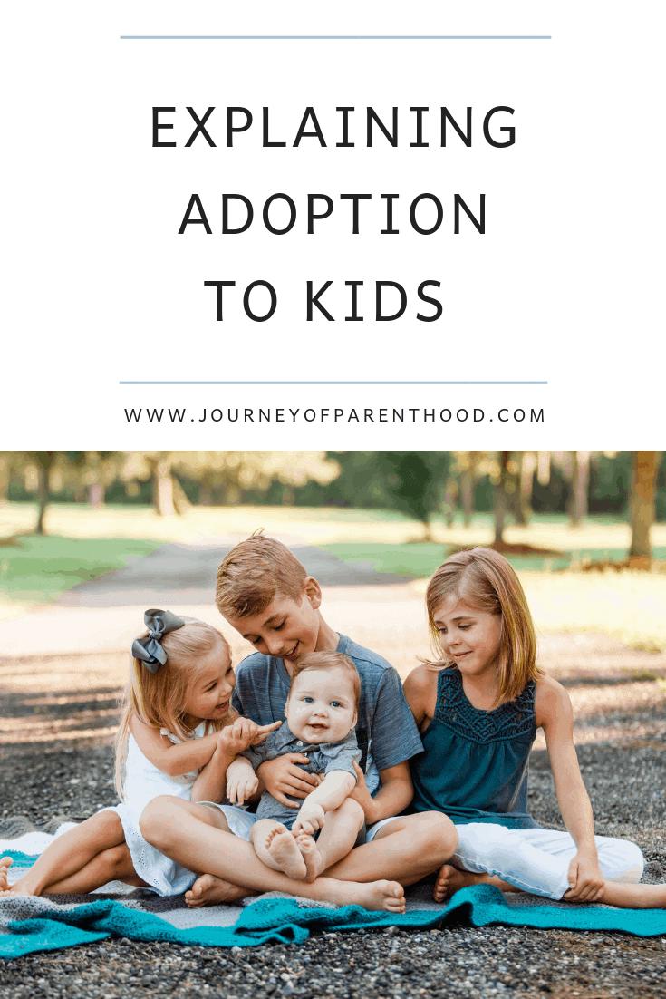 explaining adoption to kids