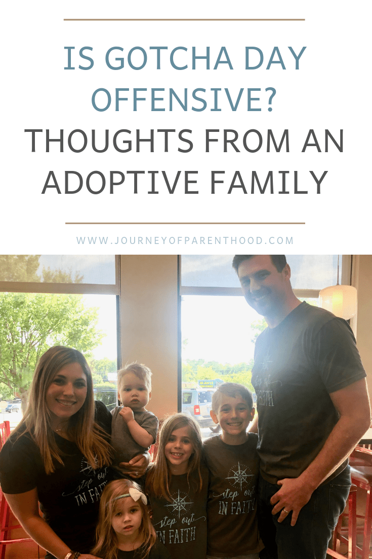 is gotcha day offensive? thoughts from an adoptive family