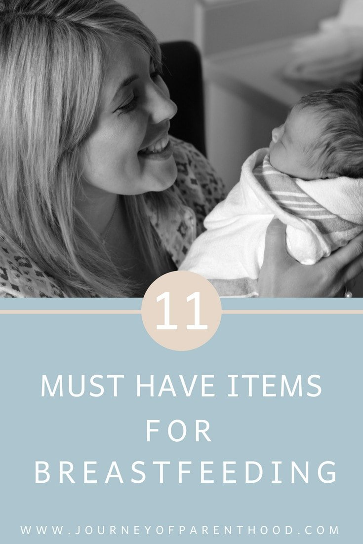 11 Must Have Items for Breastfeeding