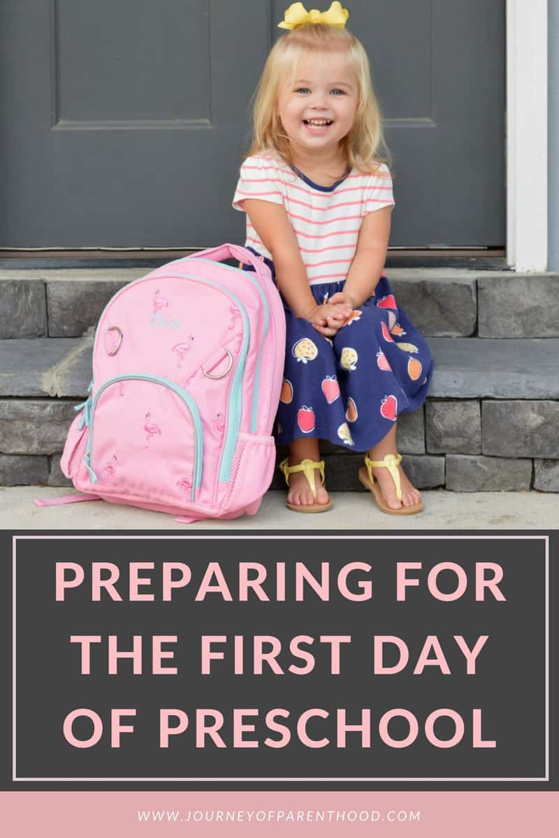pinball image: preparing for the first day of preschool
