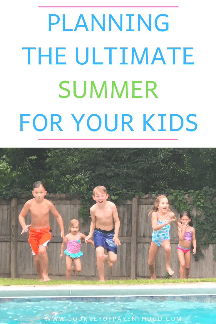 pinable image planning the ultimate summer for your kids