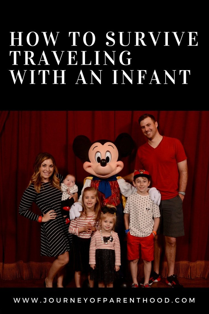 how to survive traveling with an infant
