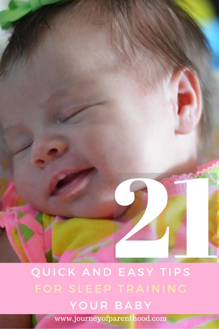 baby smiling in sleep - infant sleep guide