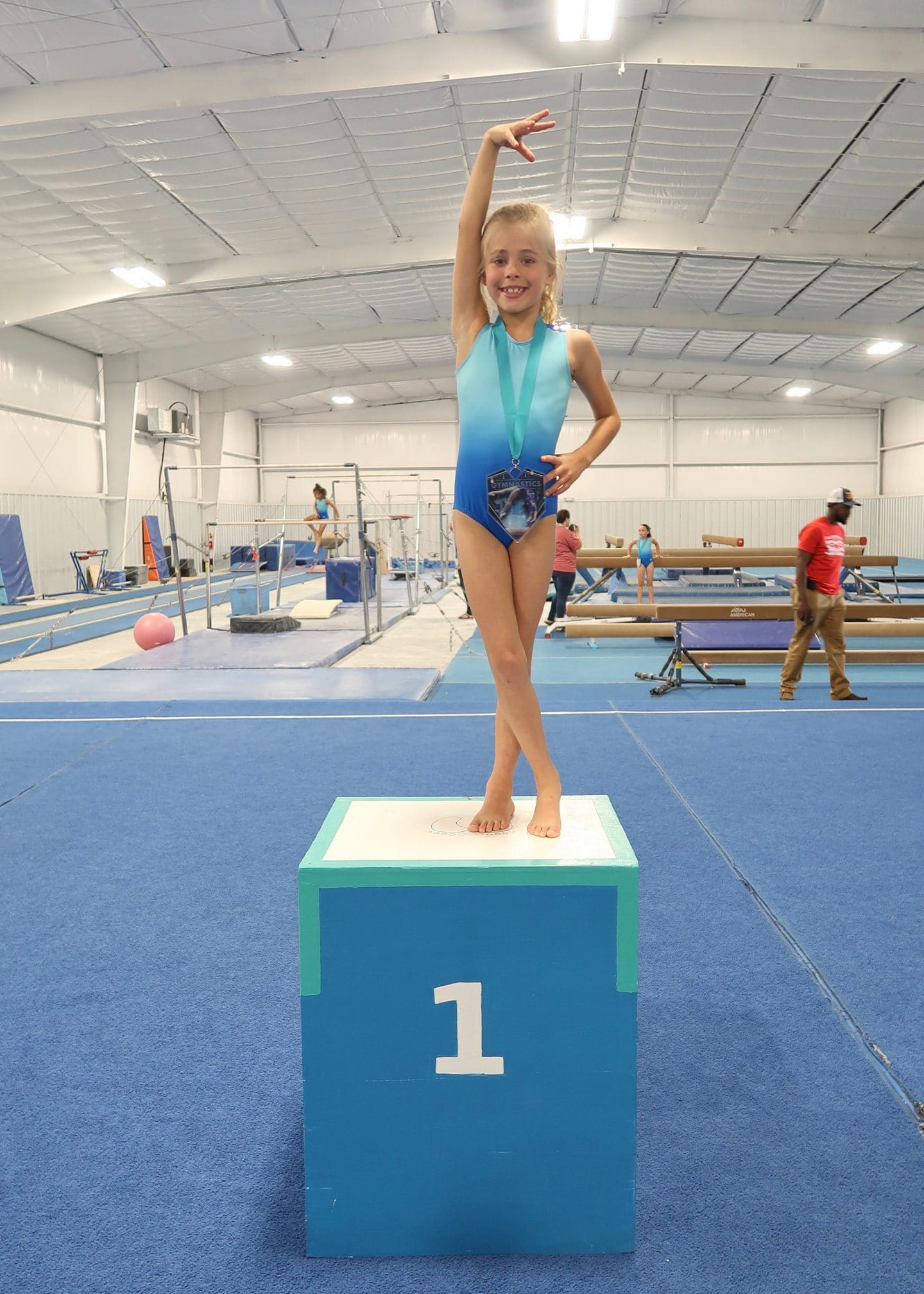 britt gymnastics exhibition