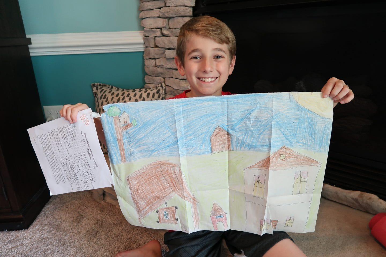 4th grader school work