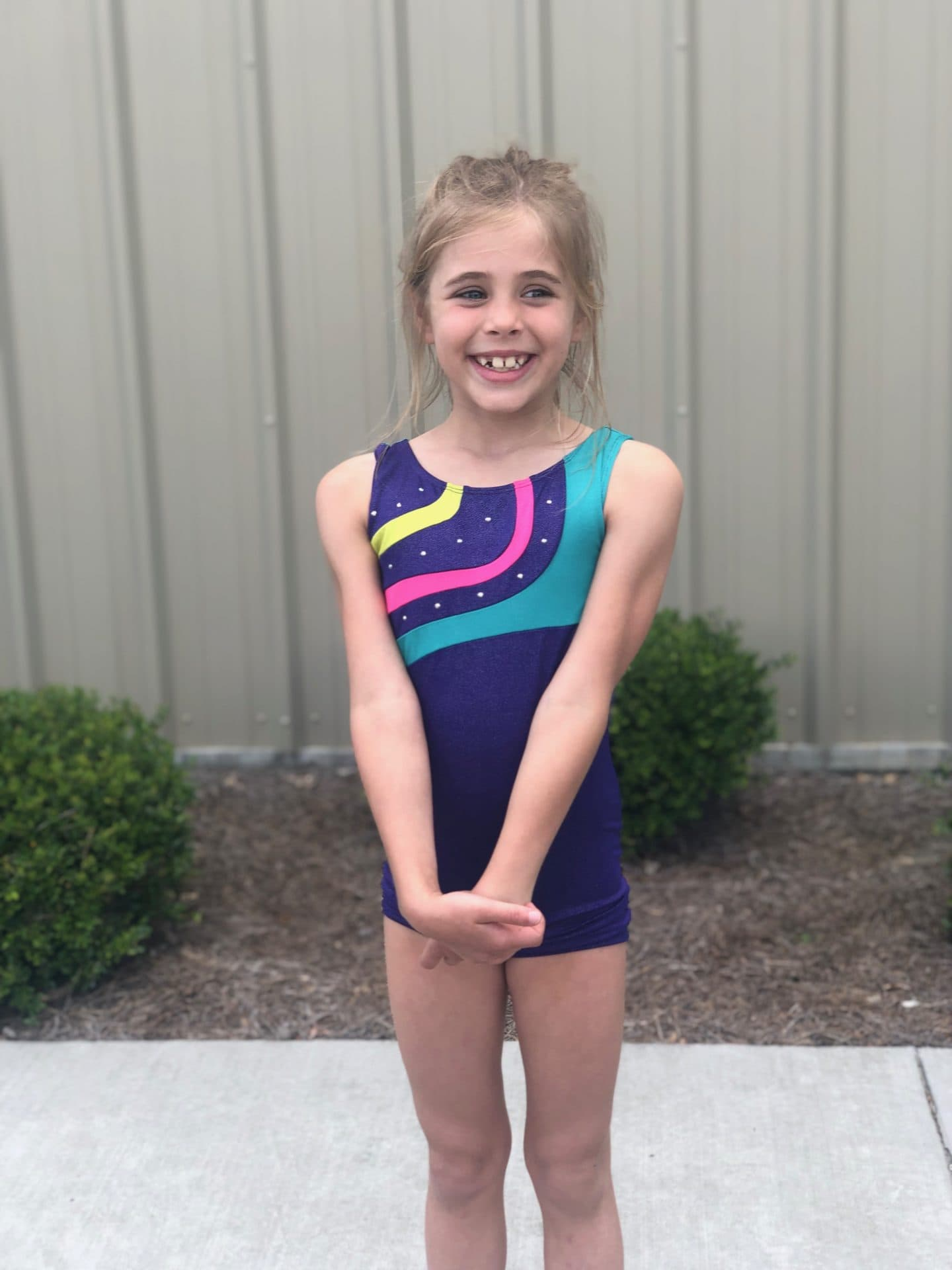 little girl gymnastics