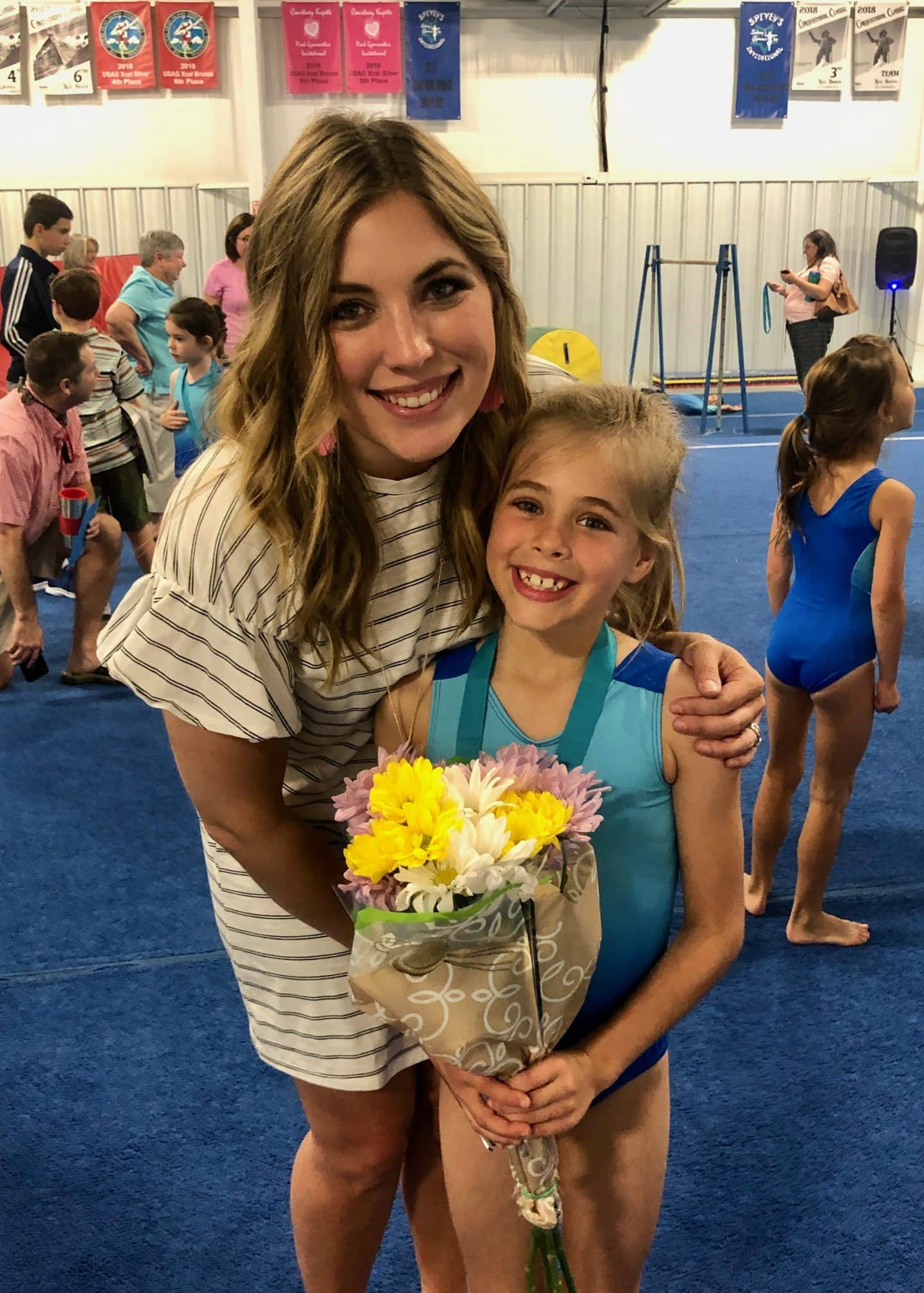 family support at gymnastics