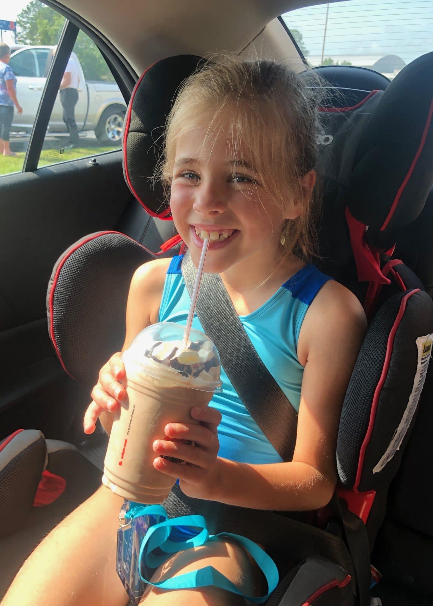 arbys milkshake
