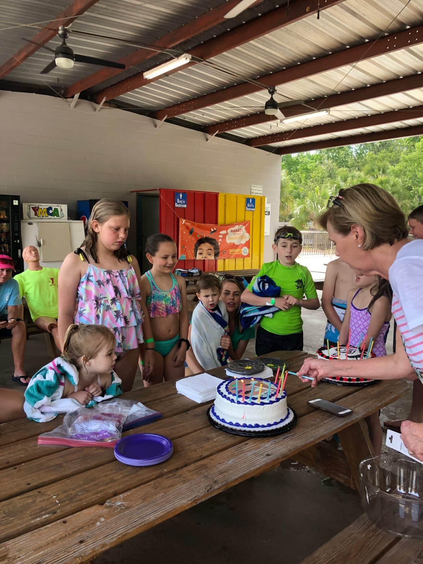 ymca birthday party