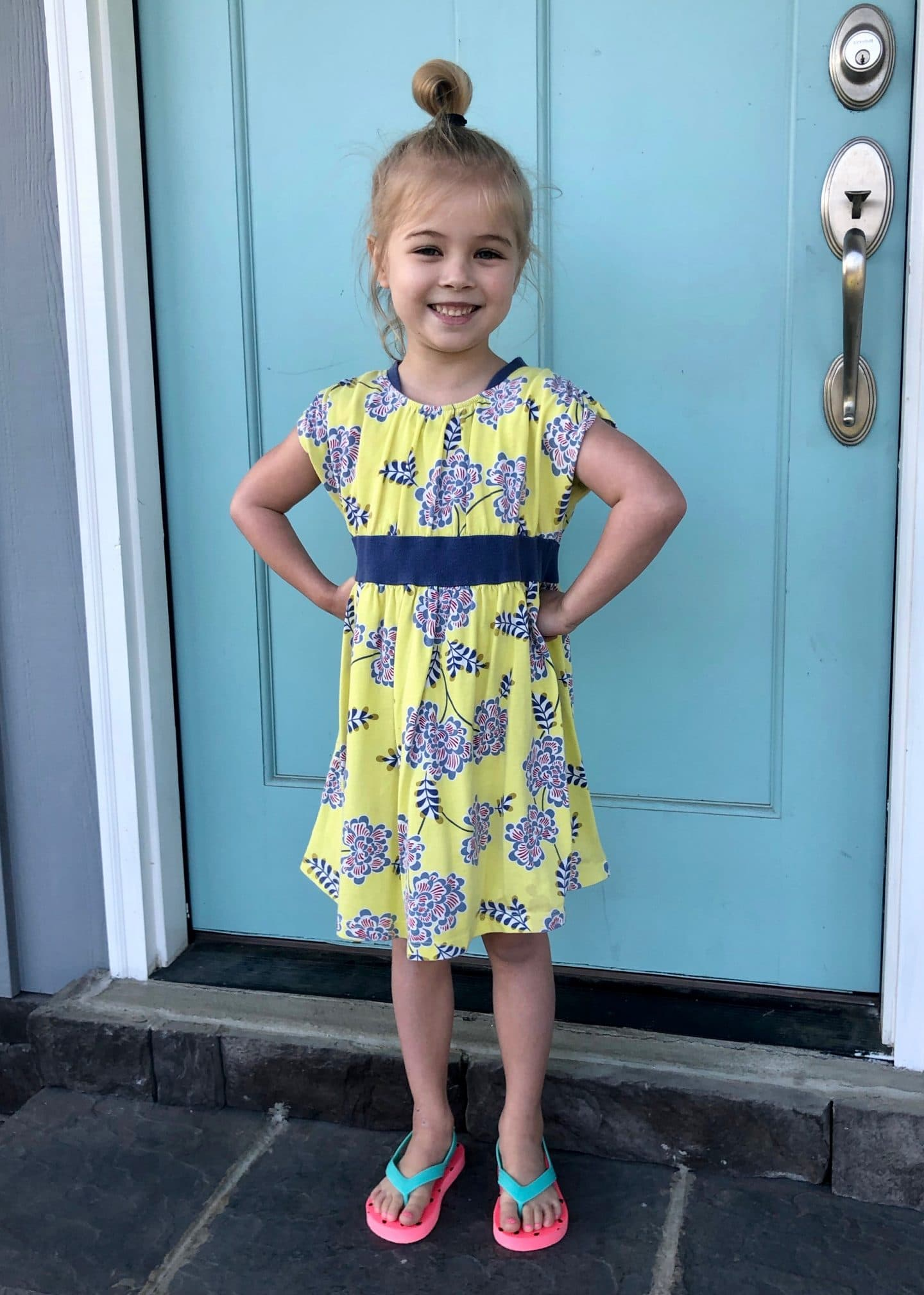 Tess last day of preschool