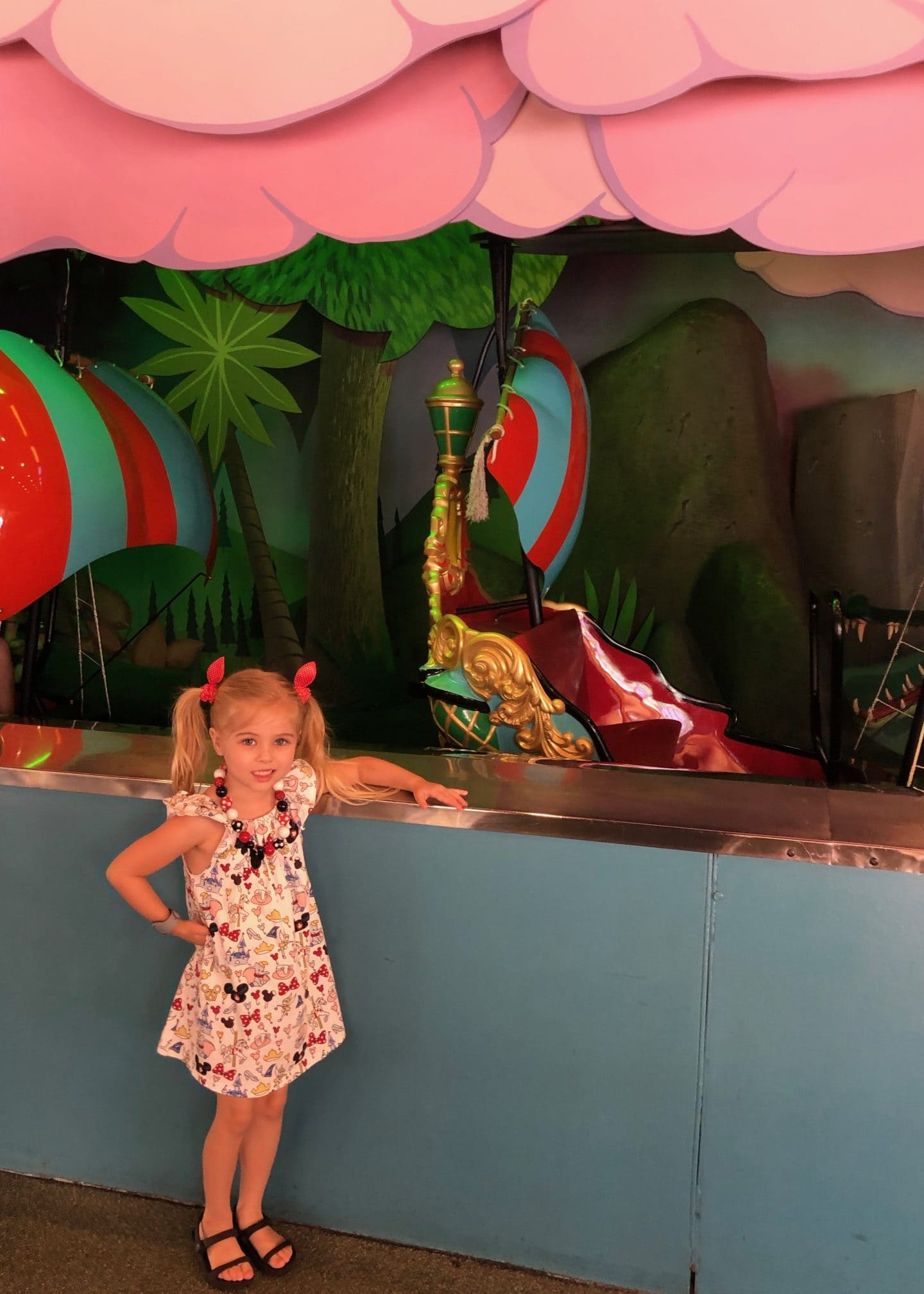 it's a small world and Peter Pan at magic kingdom