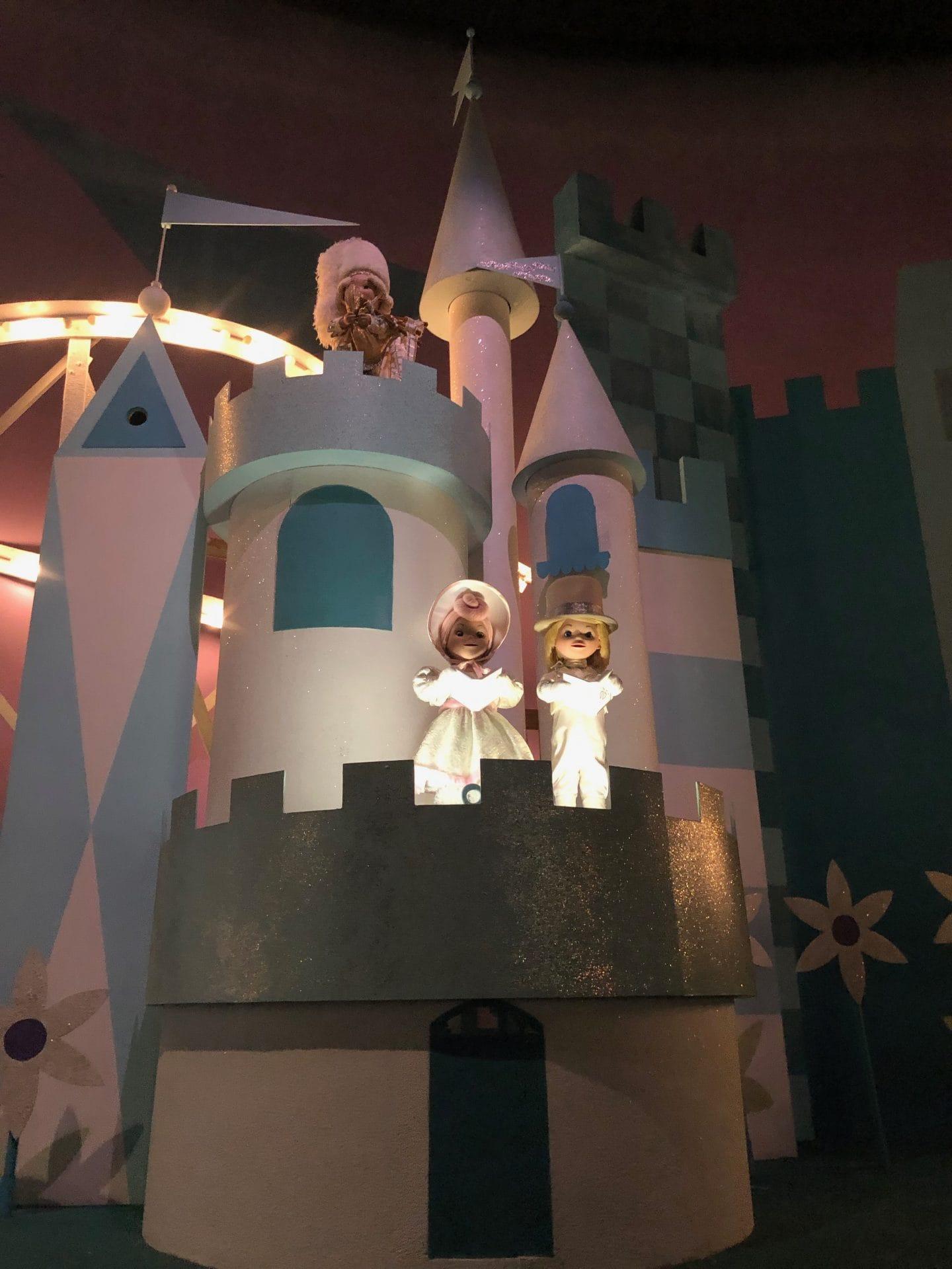 it's a small world and Peter Pan at magic kingdom