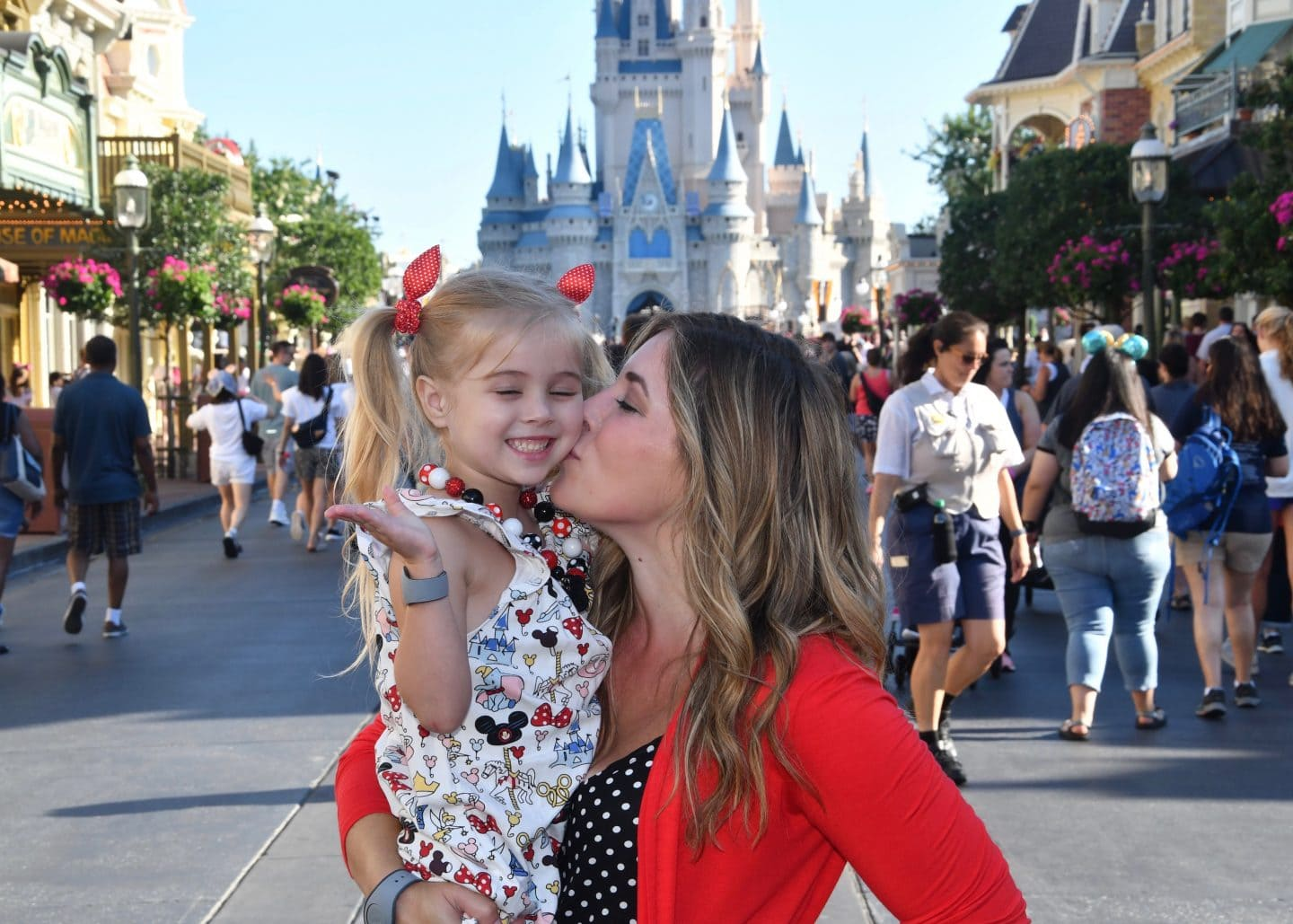 Mommy and Tess Trip: Morning at Magic Kingdom