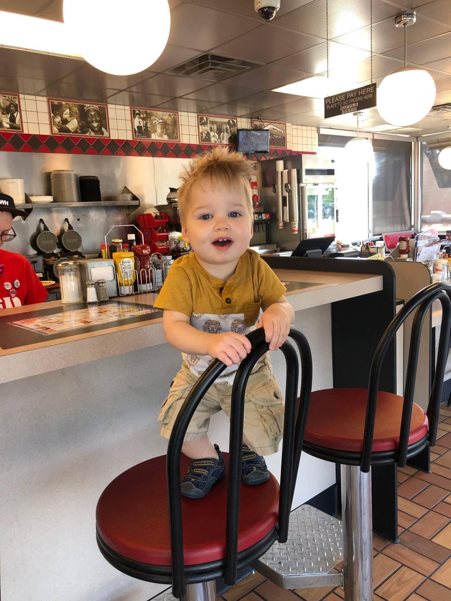 Waffle House family dinner