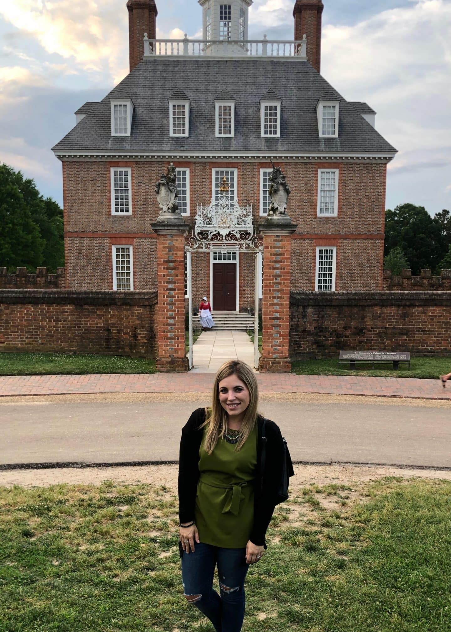 governors palace in Colonial Williamsburg