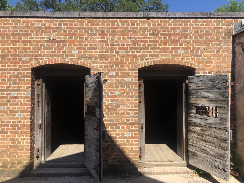 jail at Colonial Williamsburg