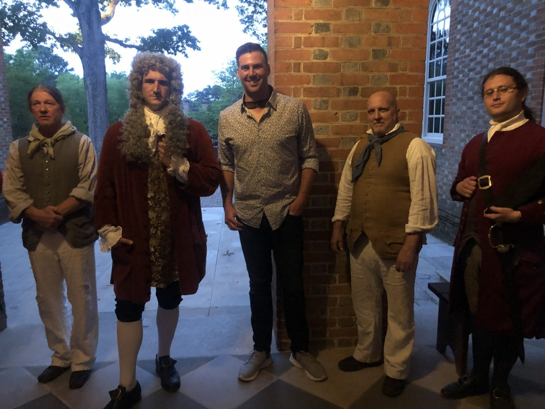 mock trial in Colonial Williamsburg