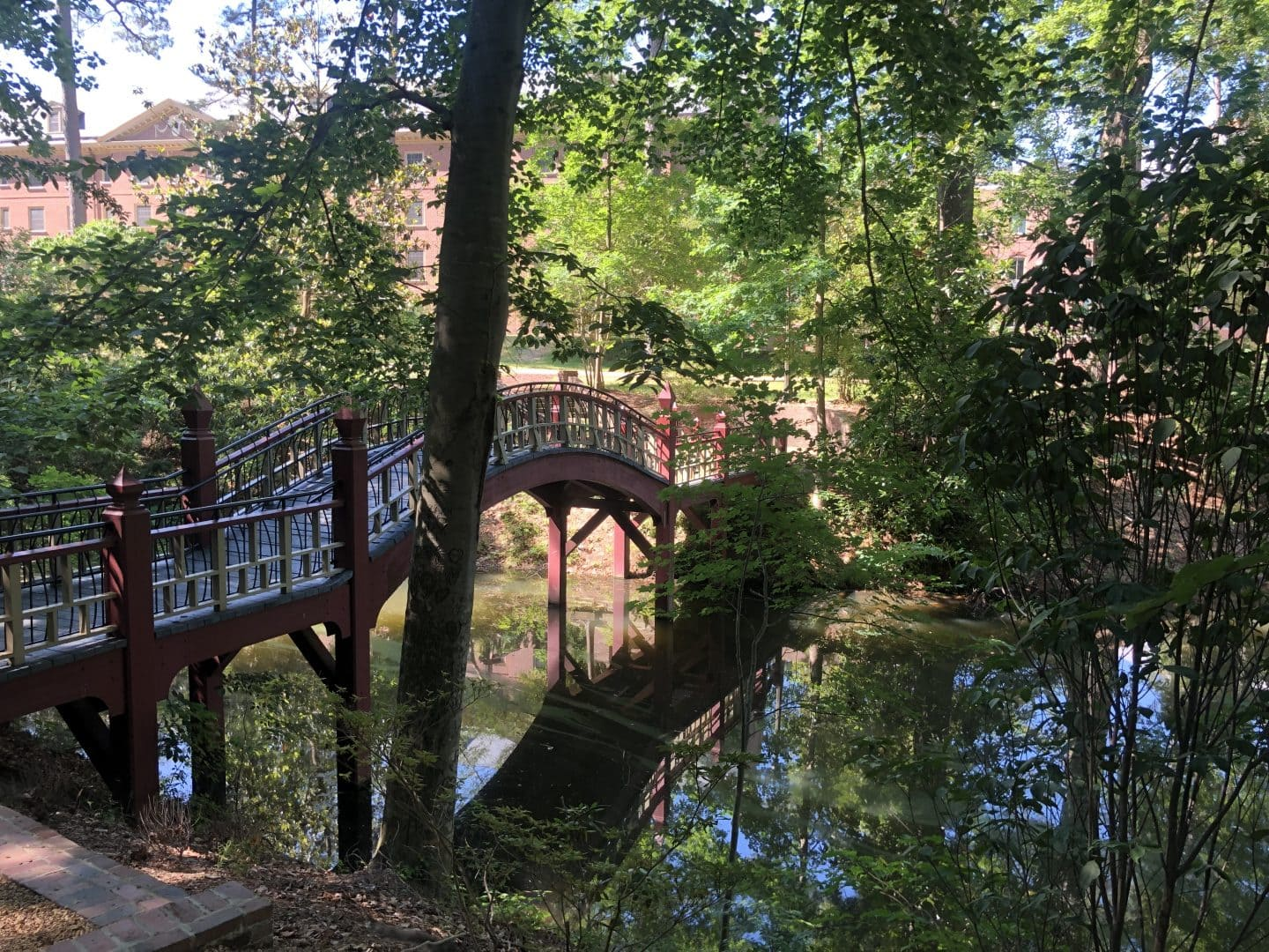 bridge at college of William and Mary