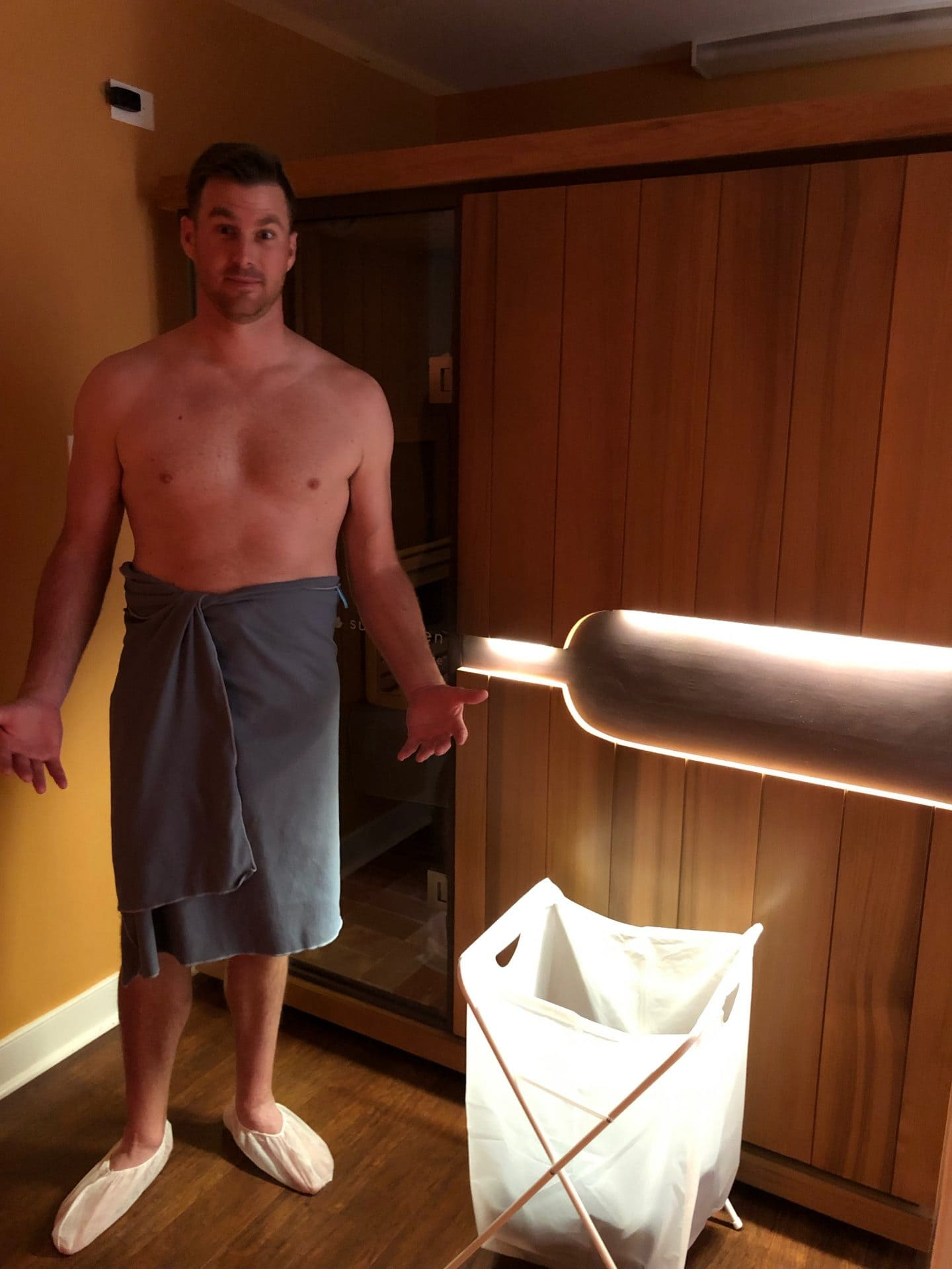 Williamsburg salt spa sauna