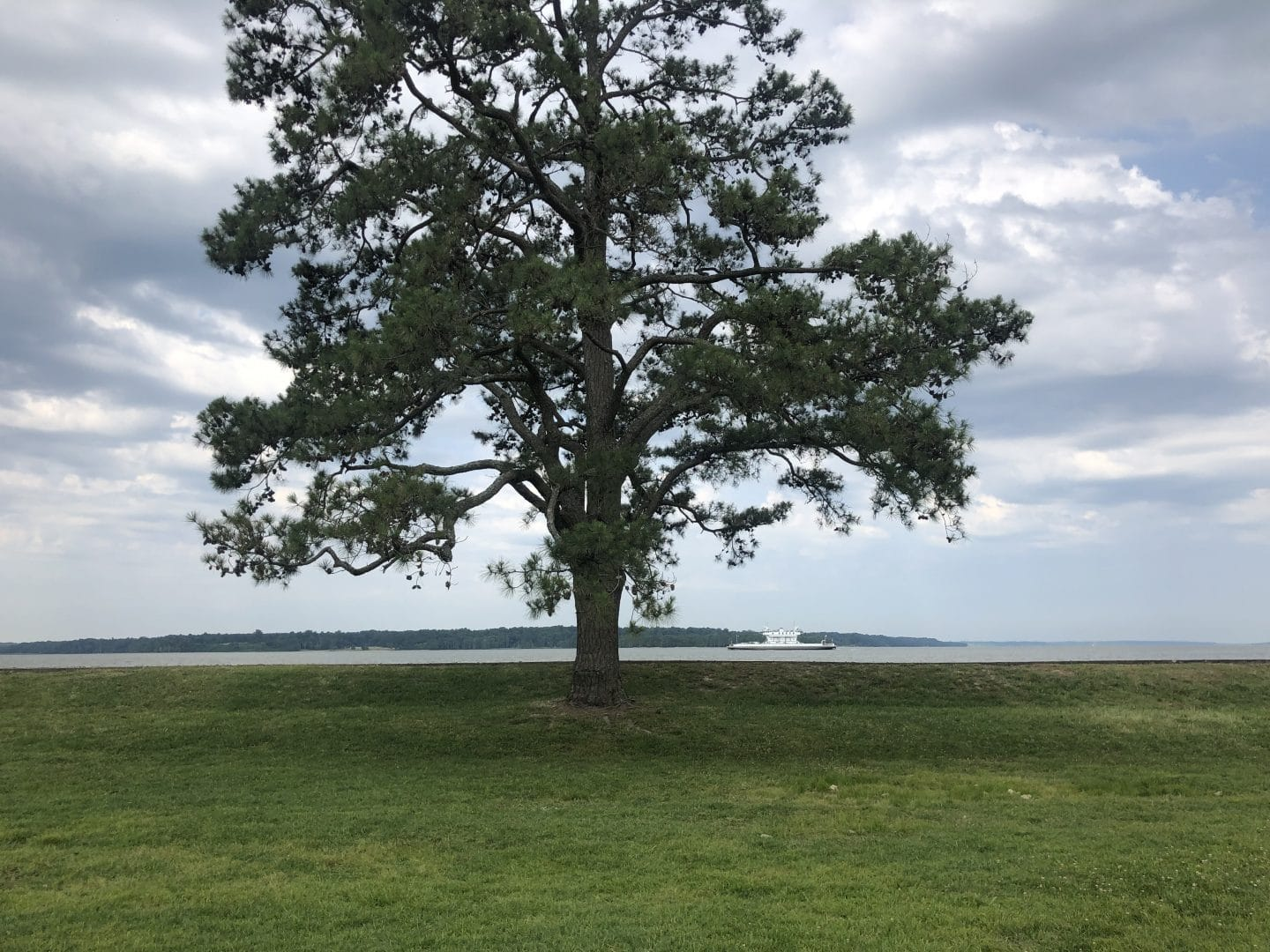 site of the first landing in Jamestown Virginia