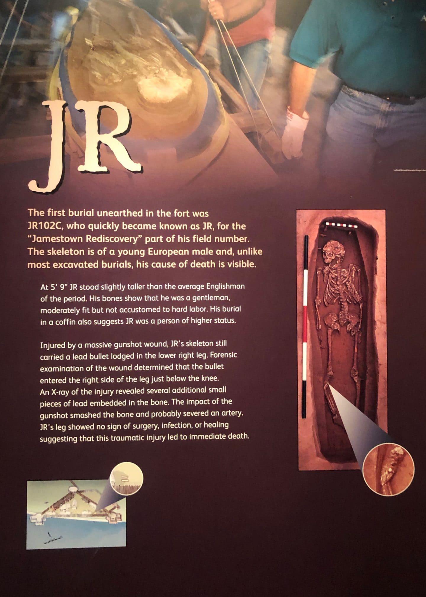 canibilism in historic Jamestown Virginia