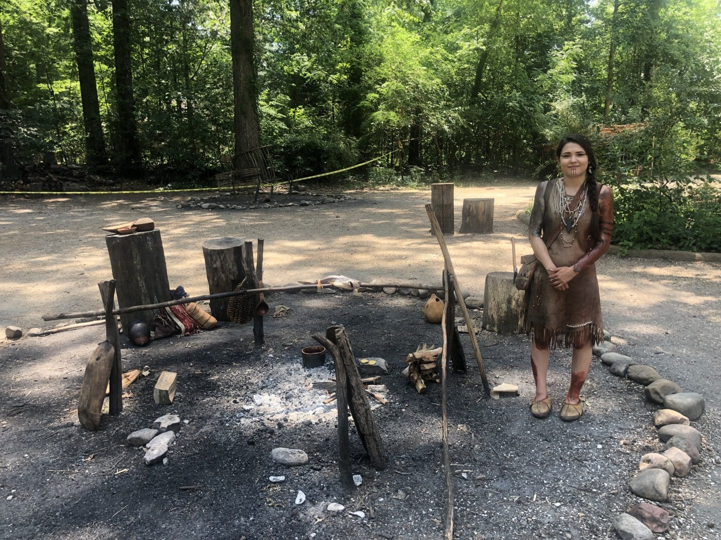 Jamestown Settlement in Williamsburg Virginia