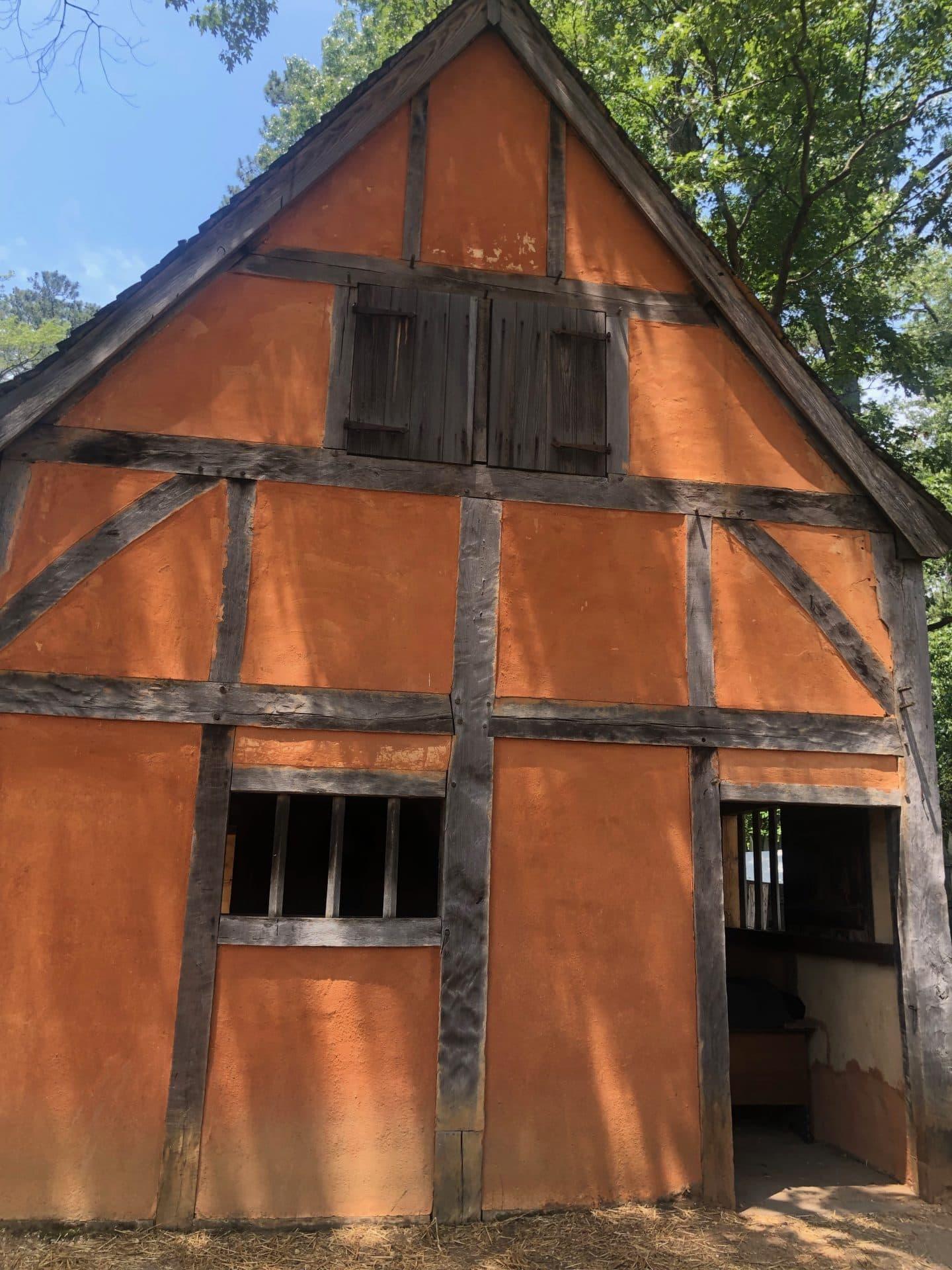 Jamestown settlement Virginia