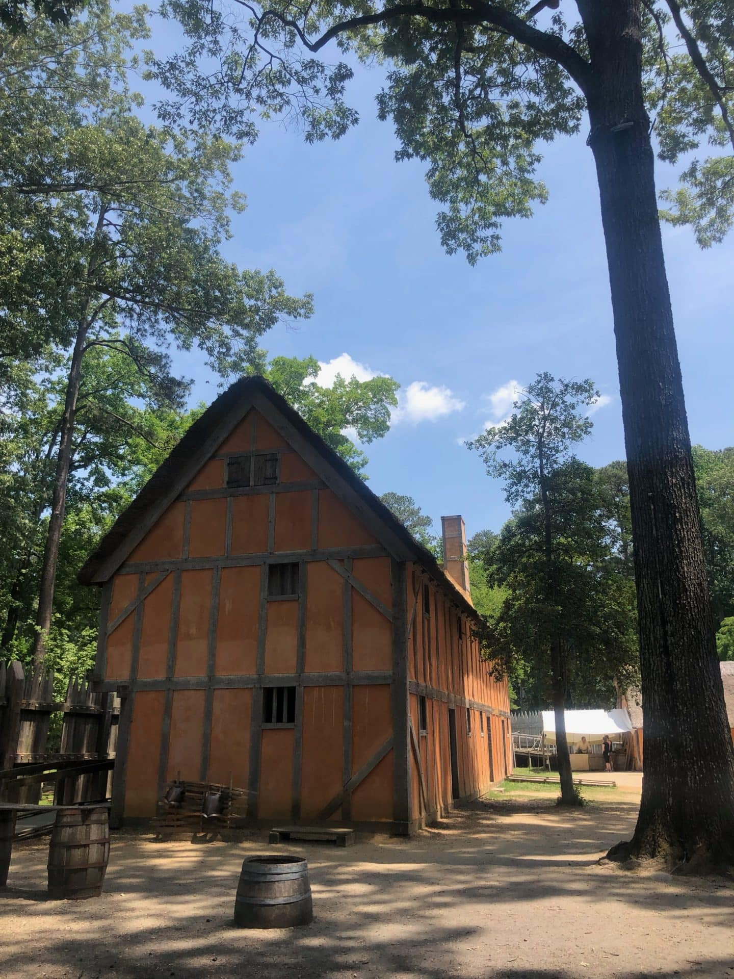 Jamestown settlement Virginia