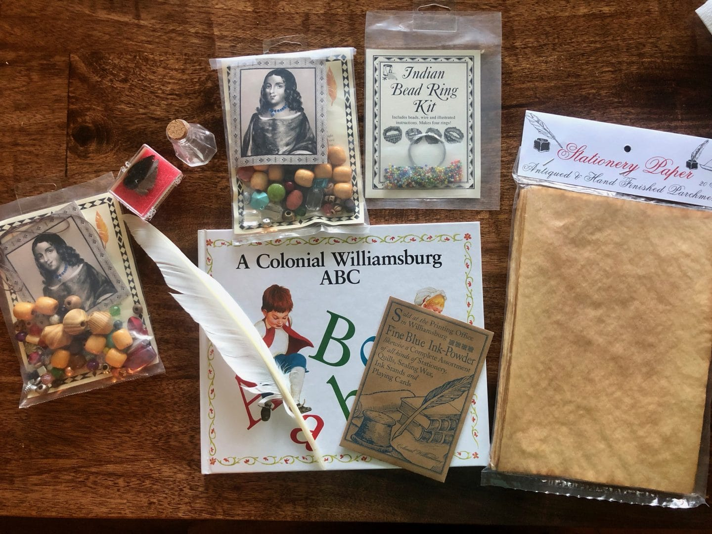 gifts for kids from Williamsburg Virginia