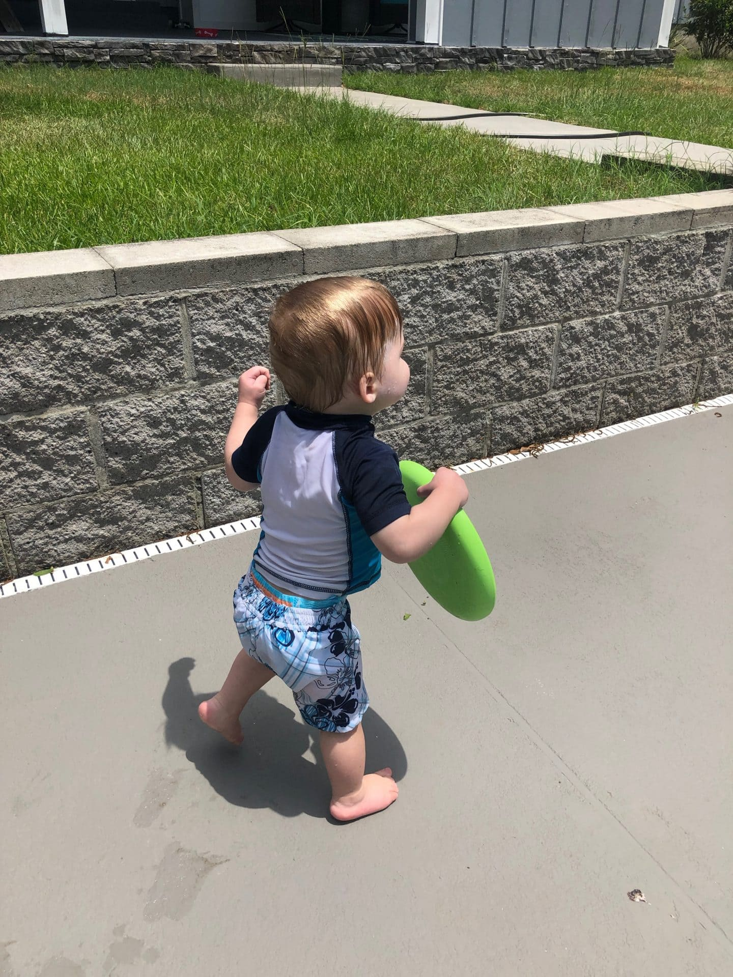 toddler swimming