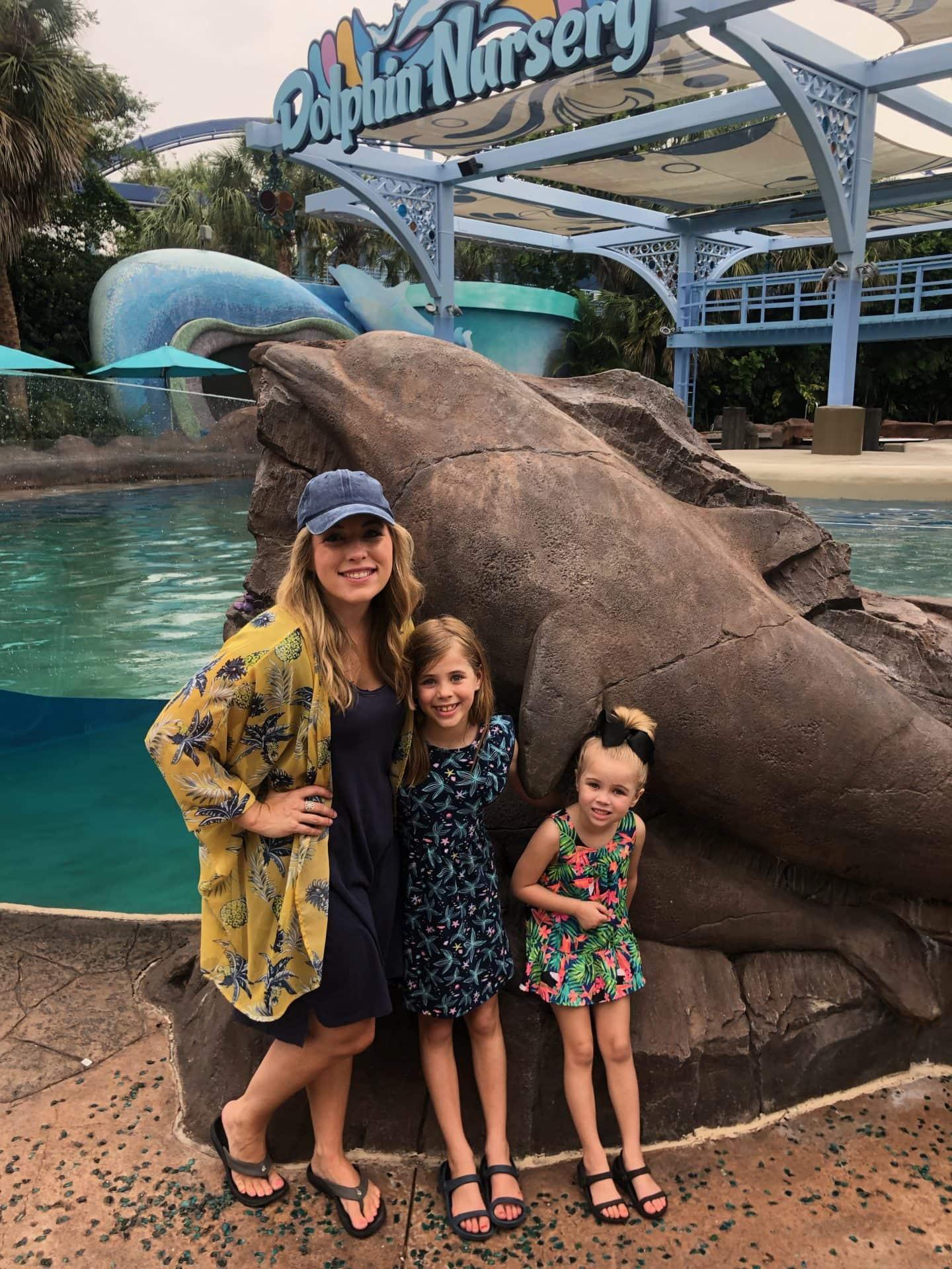dolphin exhibit sea world Orlando