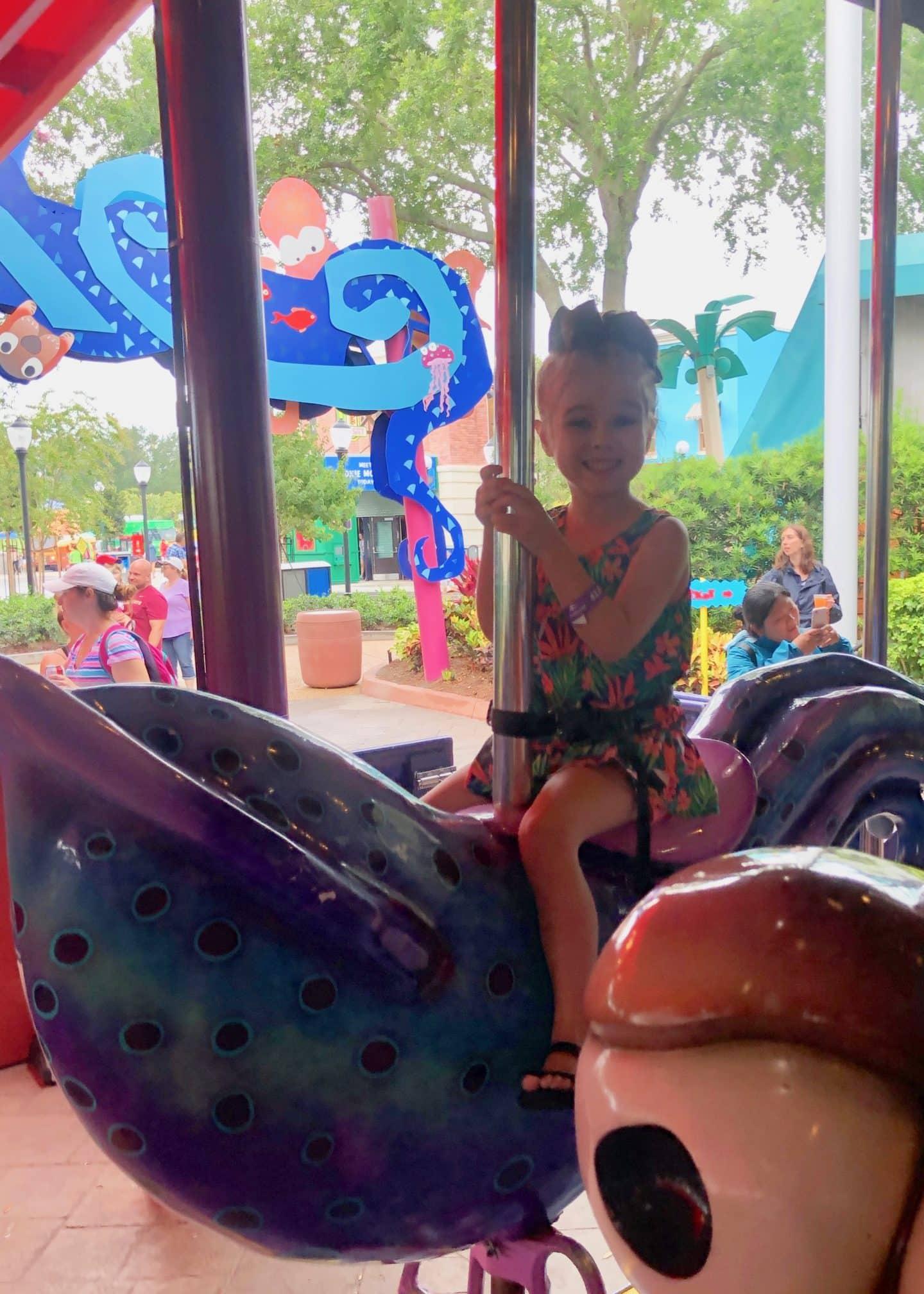 carousel at sea world
