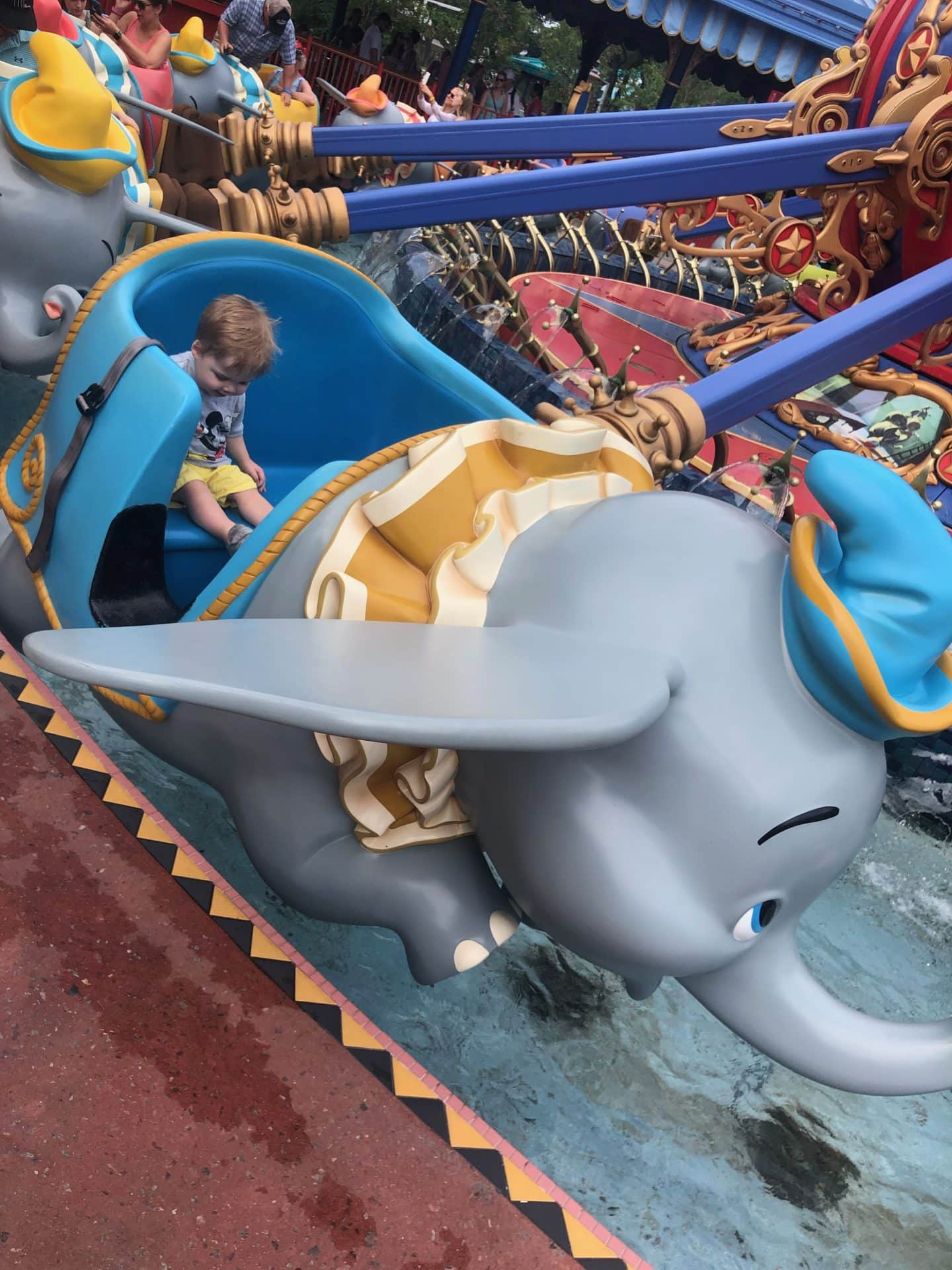 dumbo ride with toddler at magic kingdom  Disney World