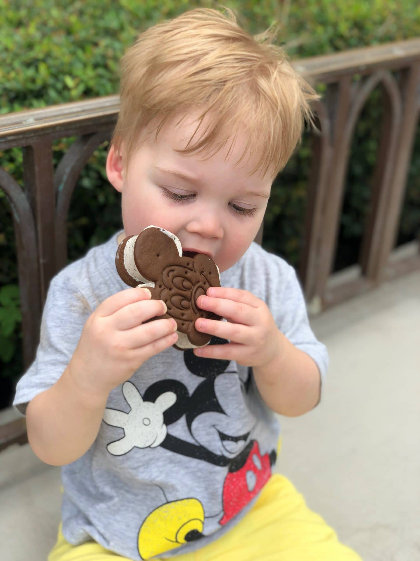 first mickey ice cream at magic kingdom