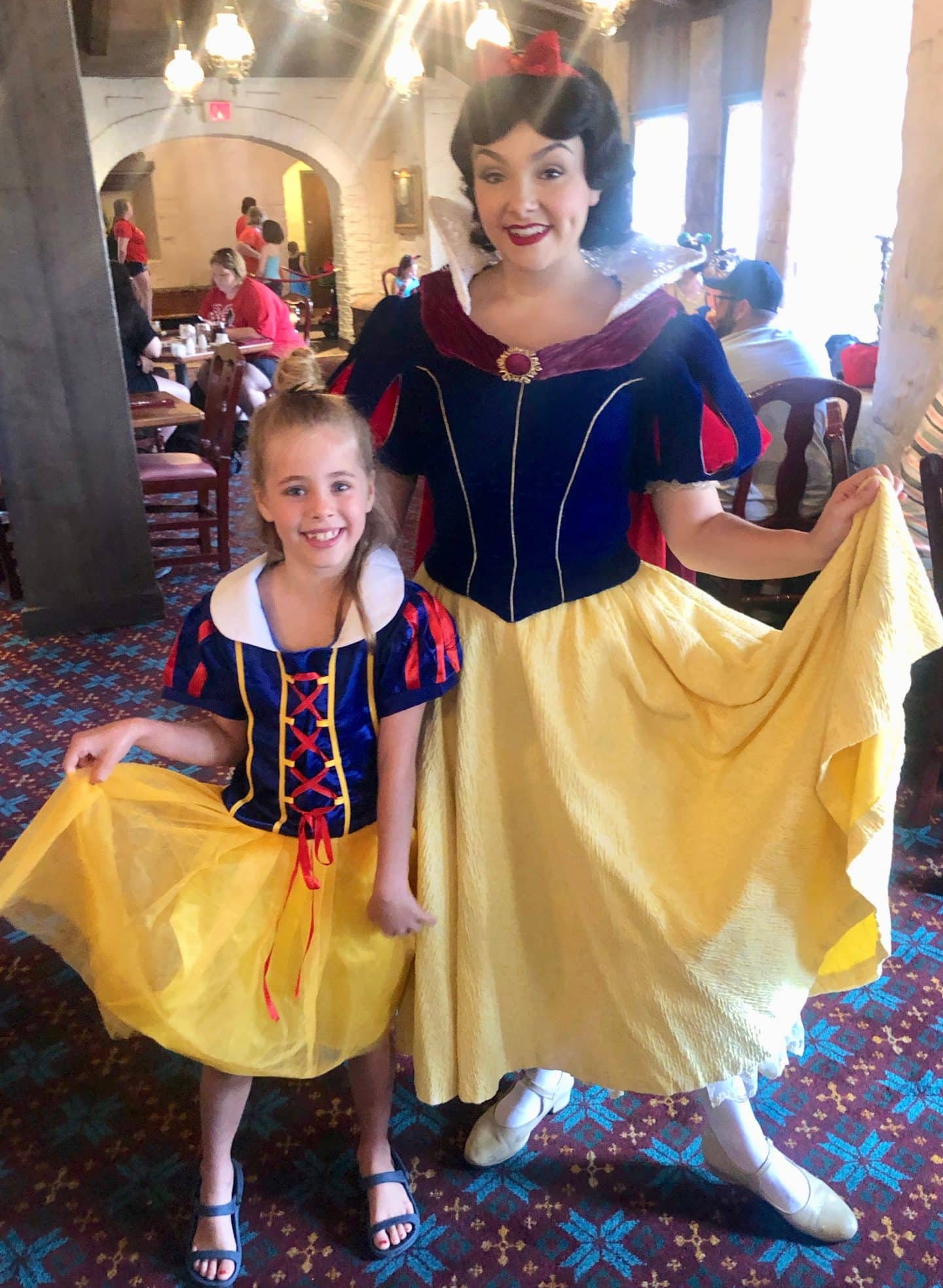 Girl Morning at Epcot: Our First Visit to Akershus Royal Banquet Hall