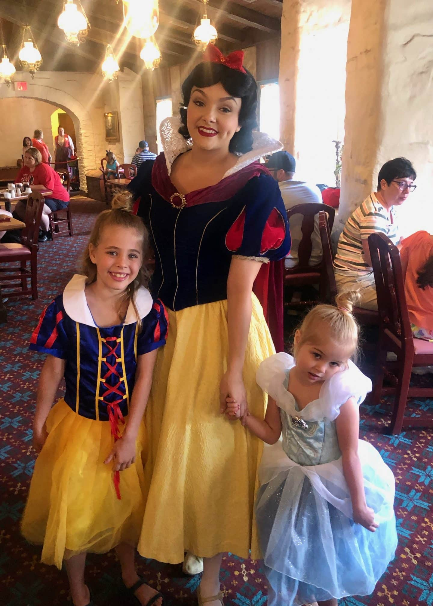 Snow White at Akershus Epcot